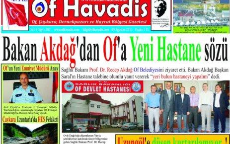 Of Havadis 203.sayı yayında