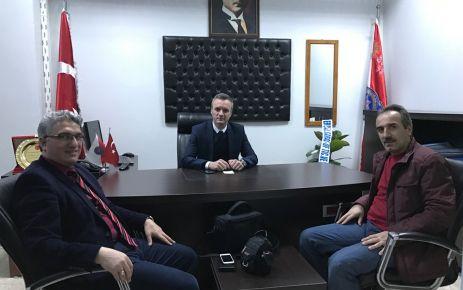 Of Havadis'ten Emniyet Müdürü Er'e ziyaret