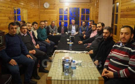 Of Medya Derneği üyeleri Başkan ve Kaymakamla buluştu