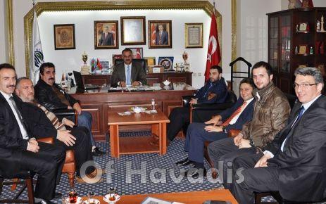 Of Medya Derneği'nden Başkan Saral'a ziyaret