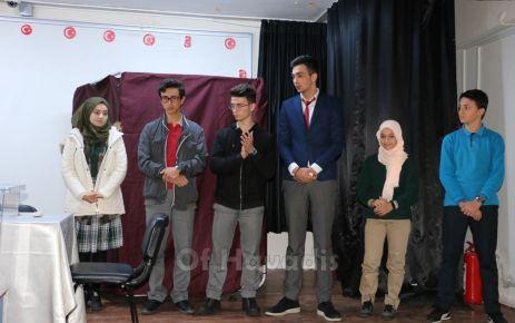Of öğrenci temsilciliğine yeniden Mustafa Yüksel seçildi
