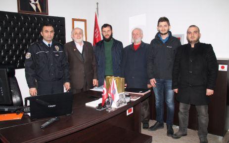 Of Saadet'ten Emniyet Müdürü Saçkan'a ziyaret