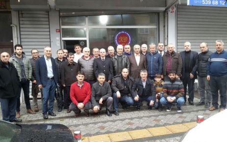 Of Şehit Ahmet Türkkan Lisesi mezunları İstanbul'da buluştu