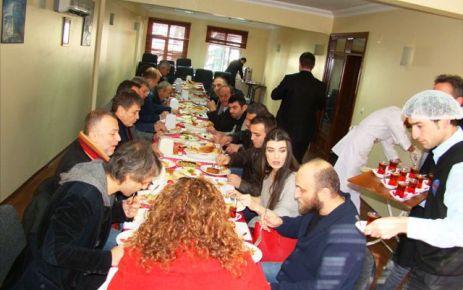 Of TSO, Moskova'nın Şifresi ekibiyle kahvaltıda buluştu
