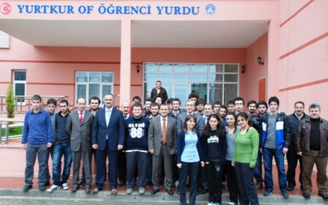 Of Yüksek Öğrenim Öğrenci yurdu öğrencilerin hizmetinde