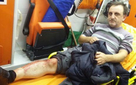Oflu Gazeteci Sadullah Dervişoğlu'na bıçaklı saldırı