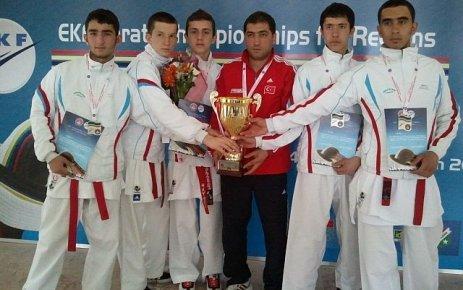 Oflu Karateci Abdülkadir Kara Avrupa 2.si