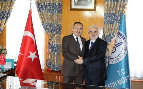 Oflu Müftü Vehap Kapıcıoğlu İstanbul Fatih'e atandı