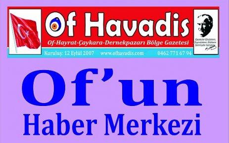 Oflu seçmen Of'un sonuçlarını Of Havadis'ten öğrendi