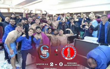 Ofspor 6 haftalık galibiyet hasretine Bergama ile son verdi