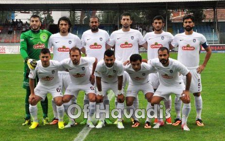 Ofspor İzmir'den de beraberlikle dönüyor