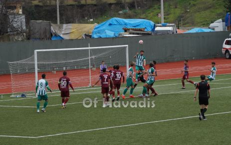 Ofspor Manisa Büyükşehir Belediyespor'a yenildi