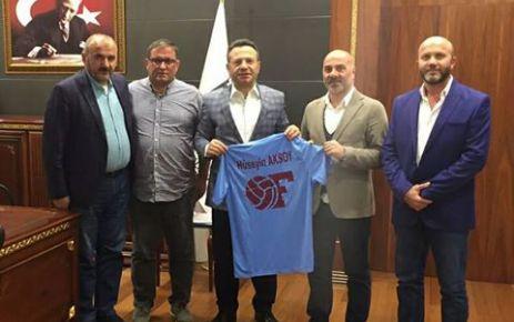 Ofspor'dan Diyarbakır Valisi Aksoy'a ziyaret