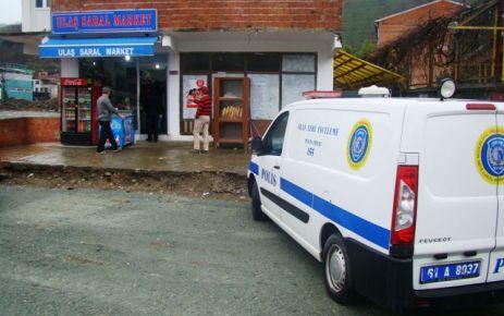 Of'ta hırsızlar market soydu