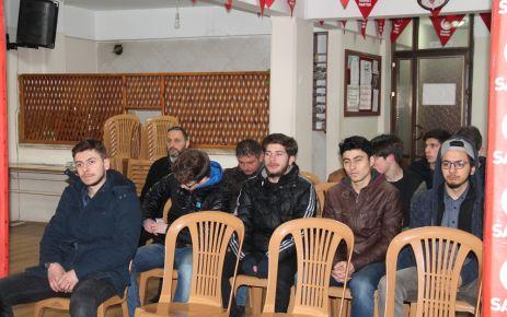 Saadet Partisi Gençlik Kolları Aylık Toplantıda buluştu