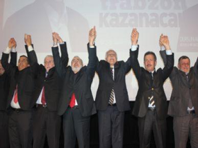 Saadet Partisi Trabzon Adaylarını tanıttı