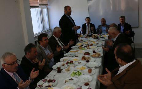Sanayi Sitesi Of yönetimiyle kahvaltıda buluştu