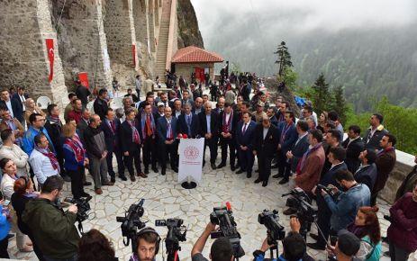 Sümela Manastırı 4 yıl sonra yeniden ziyarete açıldı
