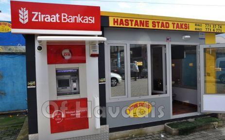 Taksi Duraklarının ilk ATM'si Ziraat Bankası'ndan