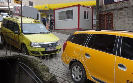 Taksiciler duraklarına kavuştu