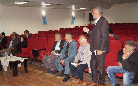 TEİAŞ'dan Kalkandere Köse hattı için Of'ta toplantı