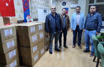 Of Hayrat Genç Girişimciler'den 36 aileye Ramazan yardımı