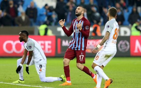 Trabzonspor Başakşehir'e mağlup oldu