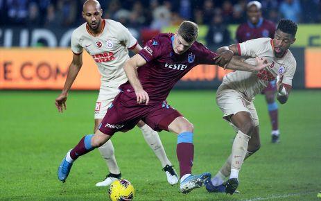 Trabzonspor Galatasaray'ı elinden kaçırdı