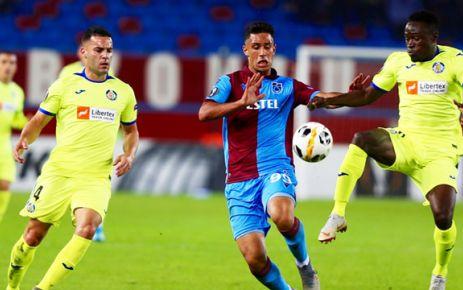 Trabzonspor genç takımla Getafe'ye 1-0 mağlup oldu