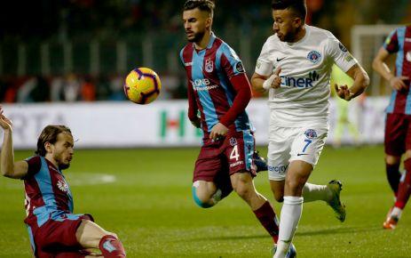 Trabzonspor Kasımpaşa'yı geçemedi