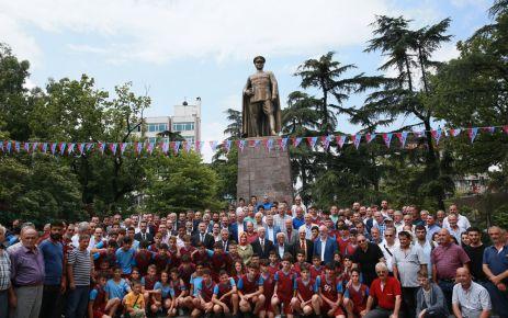 Trabzonspor'un 52. kuruluş yılı kutlandı