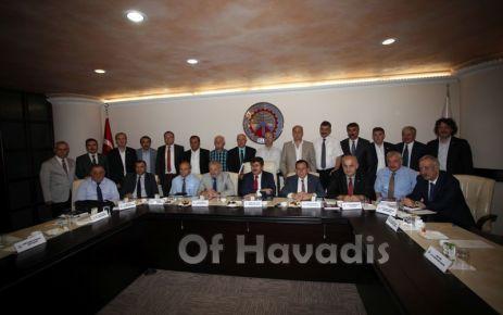 Trabzon'un kamu ve sivil yönetimi buluştu