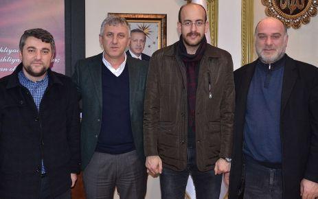 TÜGVA Temsilcisi Ergün'nden Başkan Sarıalioğlu'na ziyaret