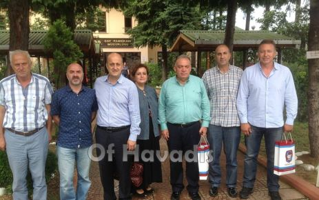 Turgutlu TSO Üyeleri Of TSO'nun misafiri oldular