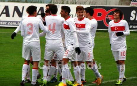 Türkiye Gürcistan U16 Milli maçı dostça bitti