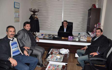Ulgayad'dan Başkan, Kaymakam ve Of Havadis'e ziyaret