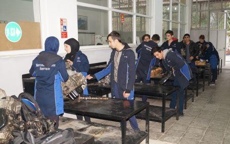 Ulusoy Meslek Lisesi geleceğin motor ustalarını yetiştiriyor
