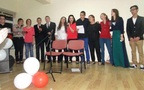 Ulusoylu öğrencilerden şiir dinletisi