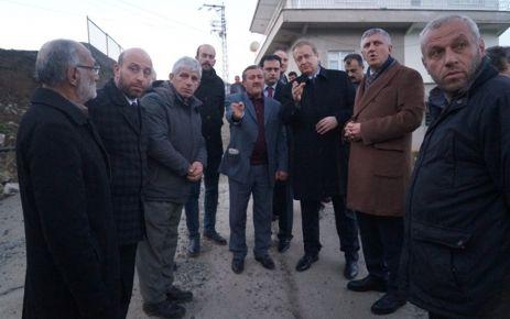 Vali Yavuz Kaymakam Fırat'ı ziyaret etti