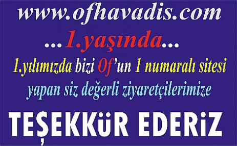www.ofhavadis.com 1.yaşında, Teşekkürler Of...