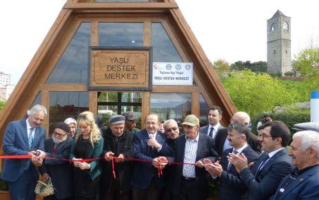 Yaşlı Destek Merkezi hizmete açıldı