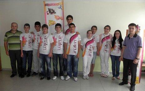 Zaferfen'den Fen Liselerine 6 öğrenci