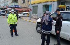 Of'ta Trafik ekiplerinin denetimleri sürüyor