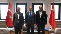 Başkanlardan Bakanlara ve Hasan paşaya ziyaret