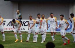 Ofspor Play Off ilk maçında Malatya Belediyespor'u...