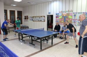 100.yıla özel masa tenisi turnuvası