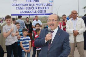 Başkan Gümrükçüoğlu 248 genci Çanakkale'ye gönderd
