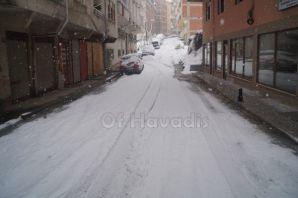 Of'ta yılın 2.karı etkili oluyor