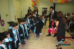 Dernekpazarılı minikler mezun oldu