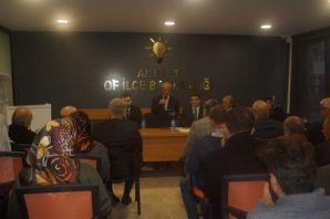 AK Parti Ekim 2018 Toplantı